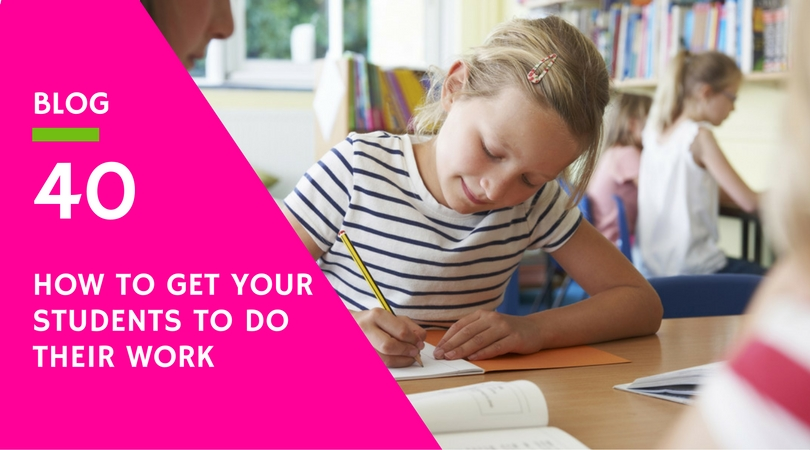 How to get your students to do their work