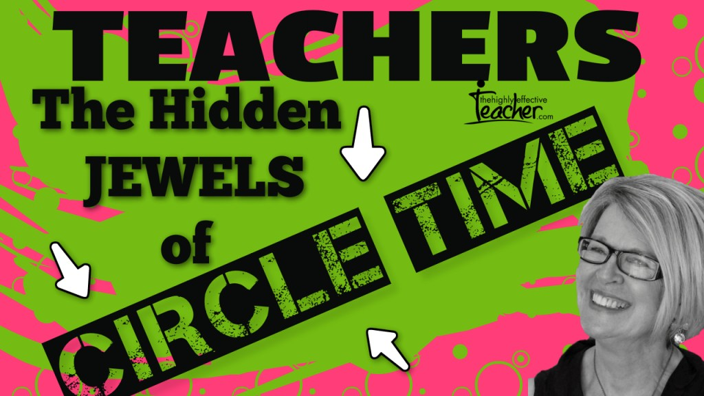 How Circle Time Increases Student and Teacher Wellbeing